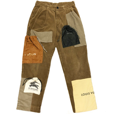 'MATERIALISTIC HABITS' TROUSERS
