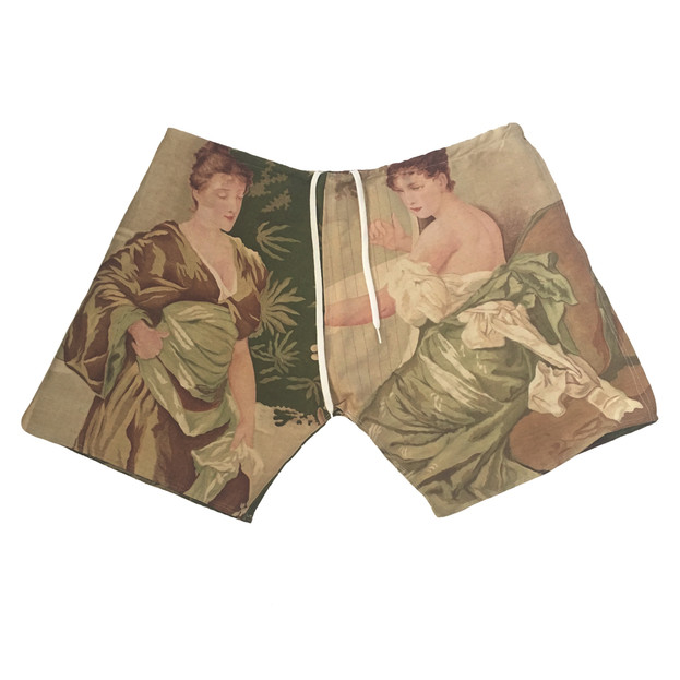 'MOTHER AND DAUGHTER' SHORTS