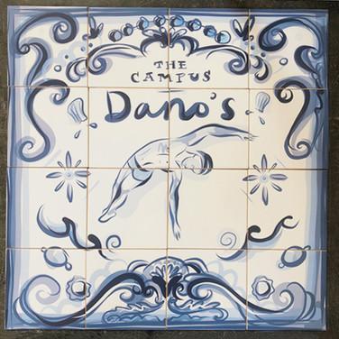 Azulejo Ceramic Tile Series (Detail)