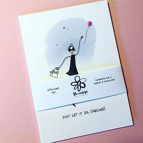 Blumenbabe Postcard Set