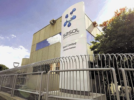 Sasol plunges after saying it needs to settle R12bn in debt