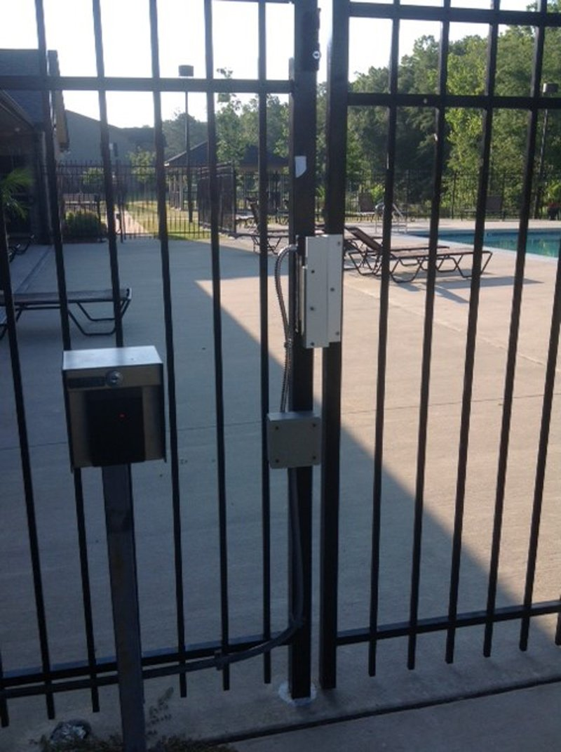 Pool Gate Access