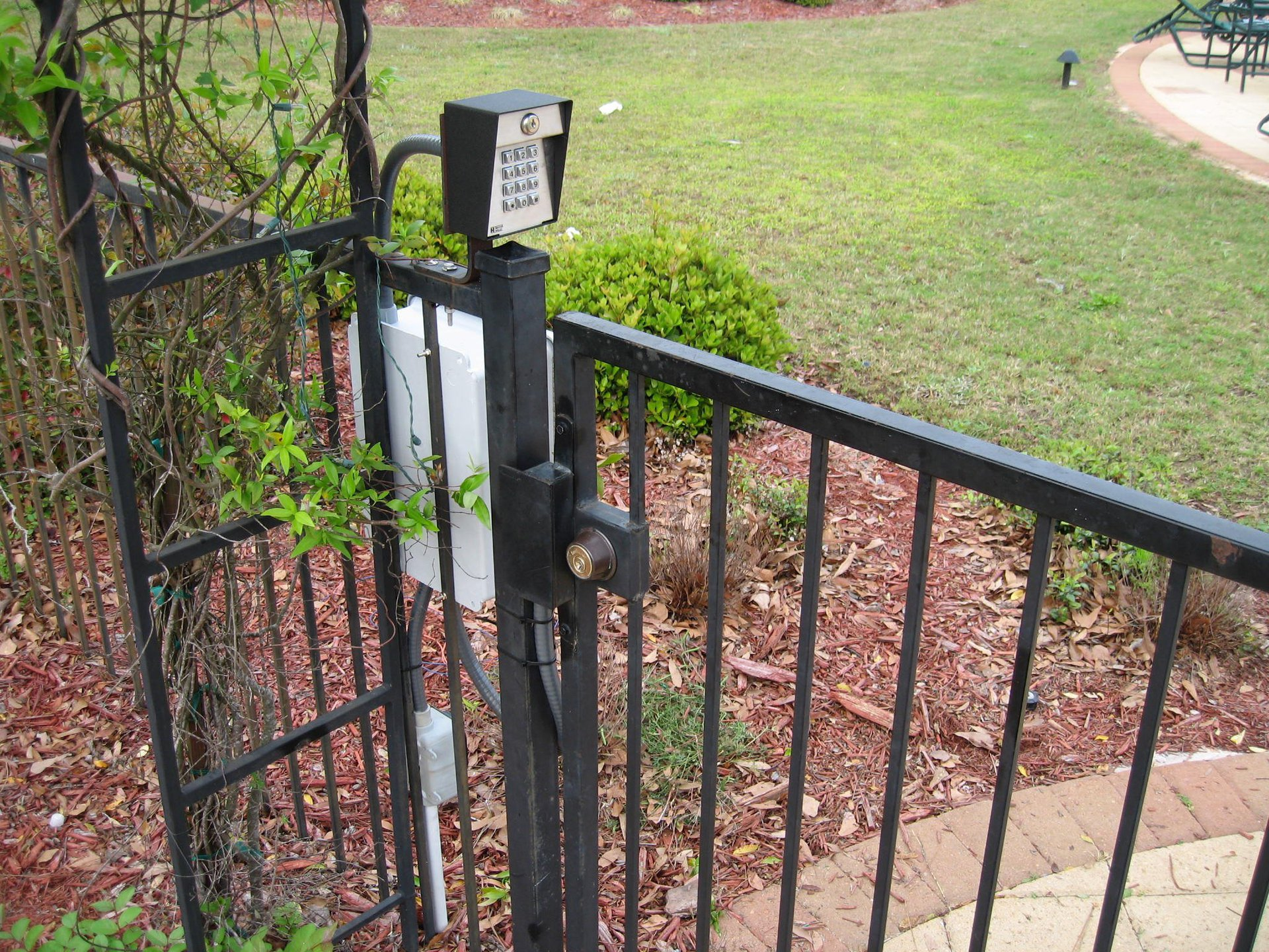 Gated Entry with Keypad