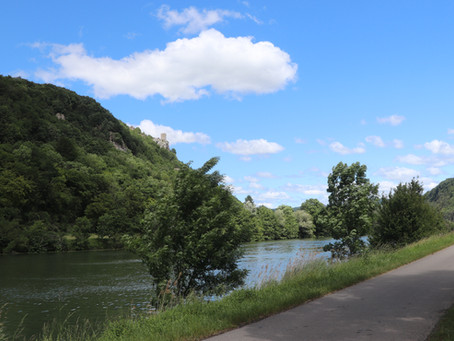Do. 13.06.19 / Dole - Verdun-sur-le-Doubs / 71 km, 138 Hm