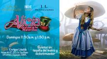 Alicia en el País de las Maravillas, en teatro Coyoacán Enrique Elizalde, temporada del 3 al 5 de ma