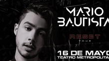 Mario Bautista se presentará en Monterrey, Guadalajara y CDMX