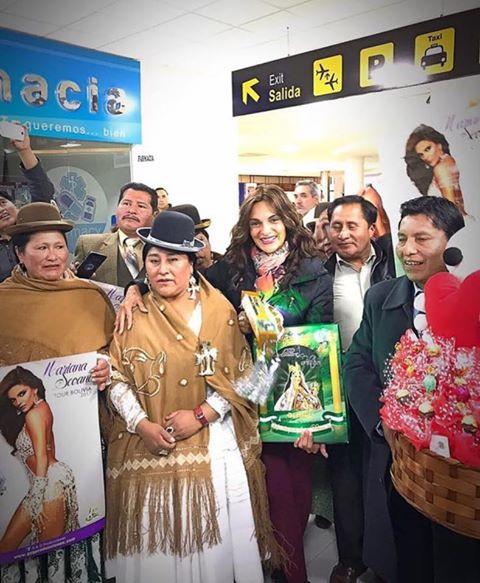 Mariana Seoane conquista Bolivia
