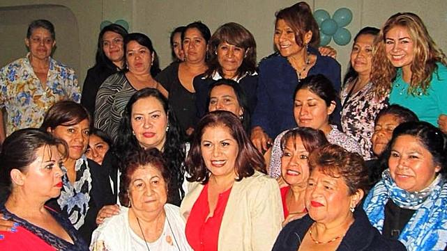 Sra. Maria de Jesús Perez de Monreal cierra  año con evento de Mujeres de la Delegación Cuauhtemoc