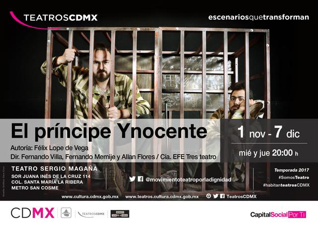 El Príncipe Ynocente,revisitación a los clásicos del Siglo de Oro español