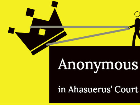 Anonymous, A Courtier to King Ahasuerus
