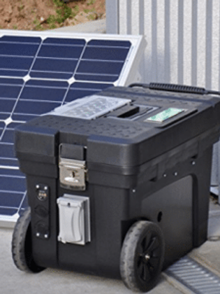 3500 Watts Green Powered Generator