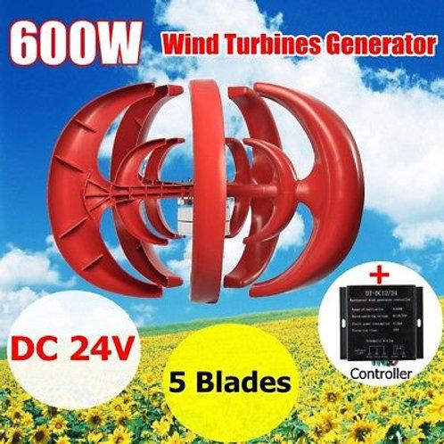 Vertical Wind Turbine 600 Watts