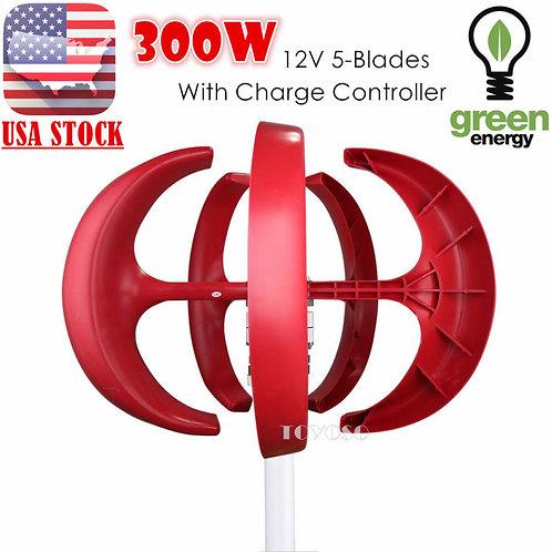 Vertical Wind Turbine 300 Watts
