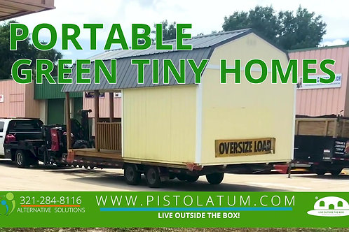 Small Green Solar Homes & More !