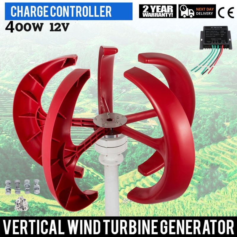 VERTICAL WIND POWER 400 WATTS