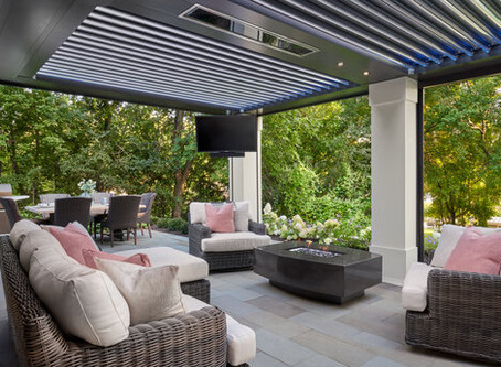 Check Out How momsdesignbuild.com Used StruXure In This Backyard Oasis!