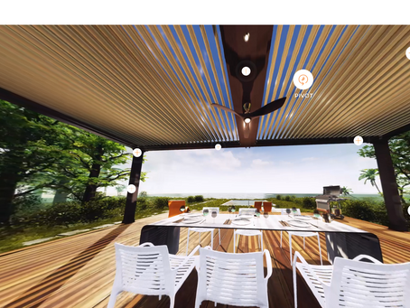 View StruXure's Pergola X in 360