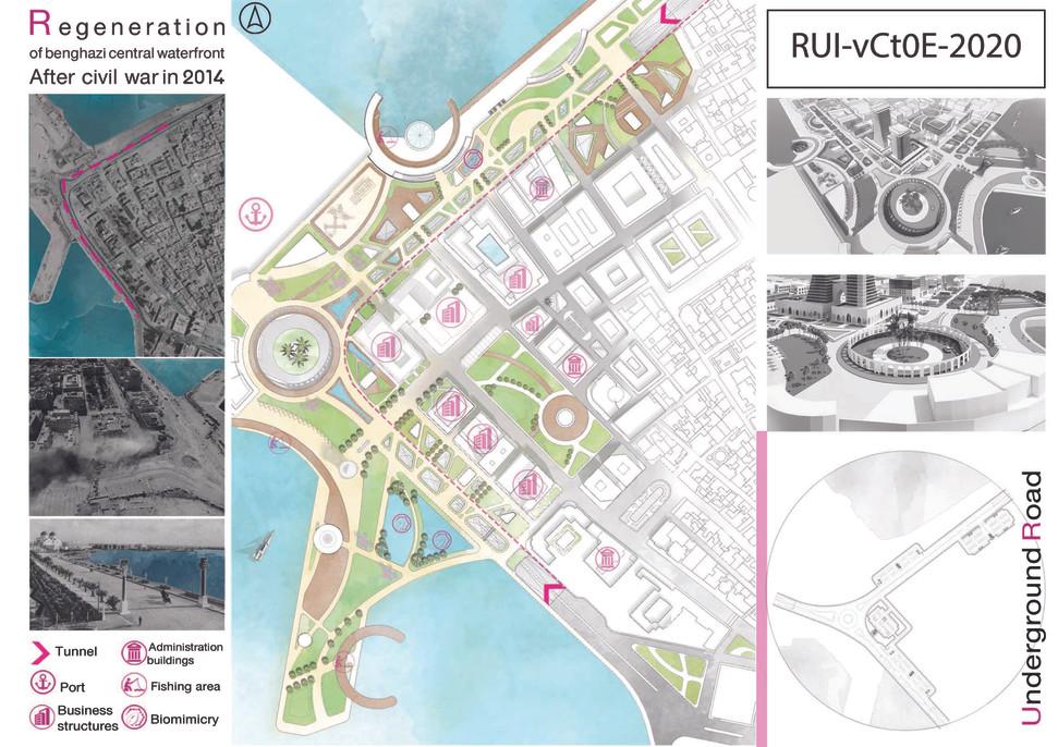 Regeneration of Benghazi central waterfront