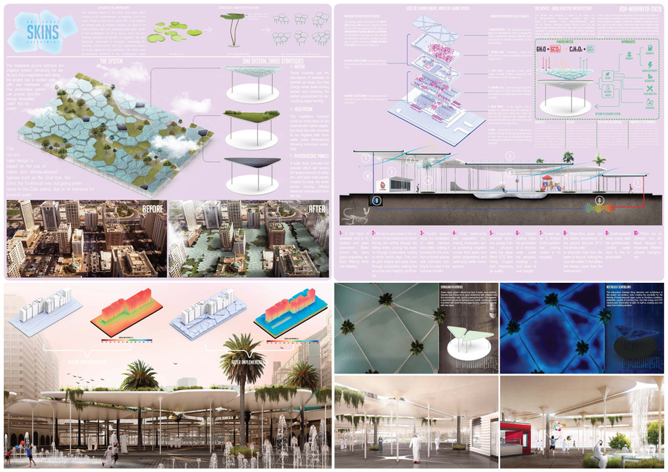 ABU DHABI SKINS – (Bio)Reactive Architecture