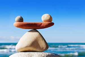 Concept of harmony and balance. Balance