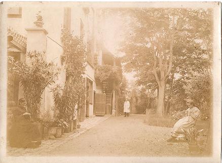 Jardin en 1888