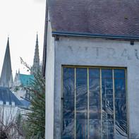 Vue cour cathédrale