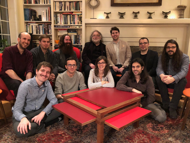 Brian Ferneyhough and Stanford Composers (2018)