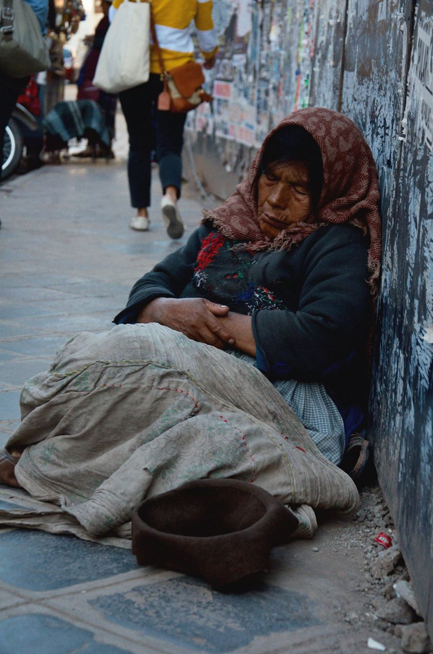 Woman in Chile