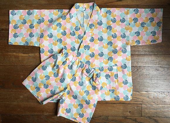 Jinbei enfant - origami 4/5 ans
