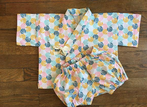 Jinbei bébé - origami 9-18 mois