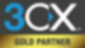 3CX Gold Partner Logo