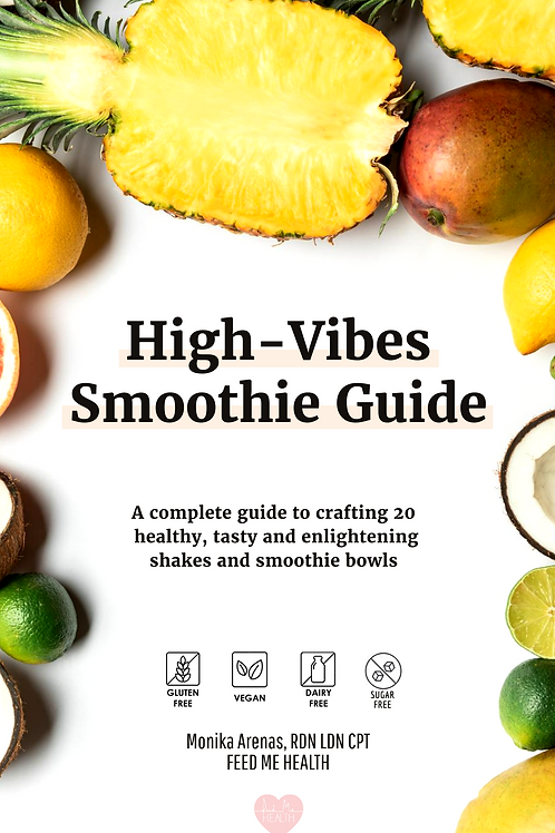 High-Vibes Smoothie Guide E-Book