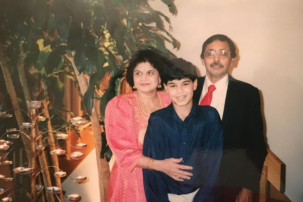 Jasdeep Singh CT UConn and family