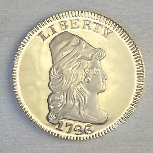 1796 Quarter Eagle NO Stars Proof reproduction