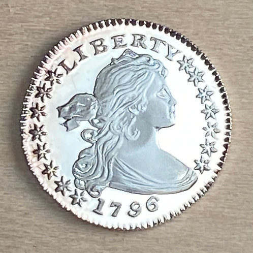 1796 Half Dime Proof reproduction