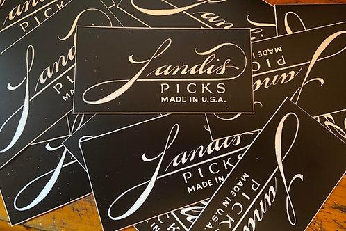 Landis Pick Stickers