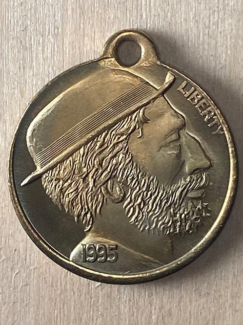 1995 Britt Iowa medallion. Brass.