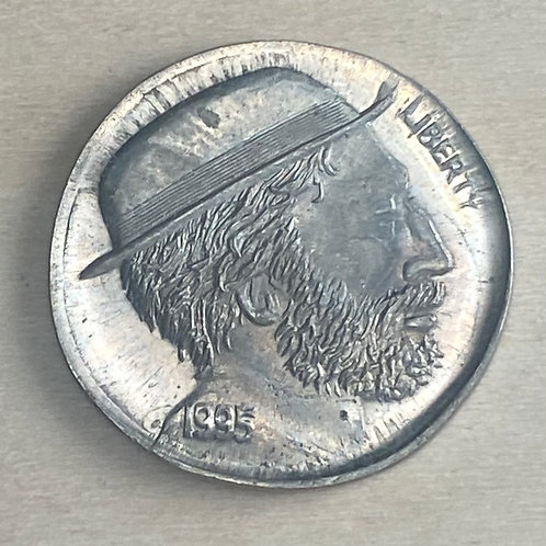1995 National Hobo Convention token