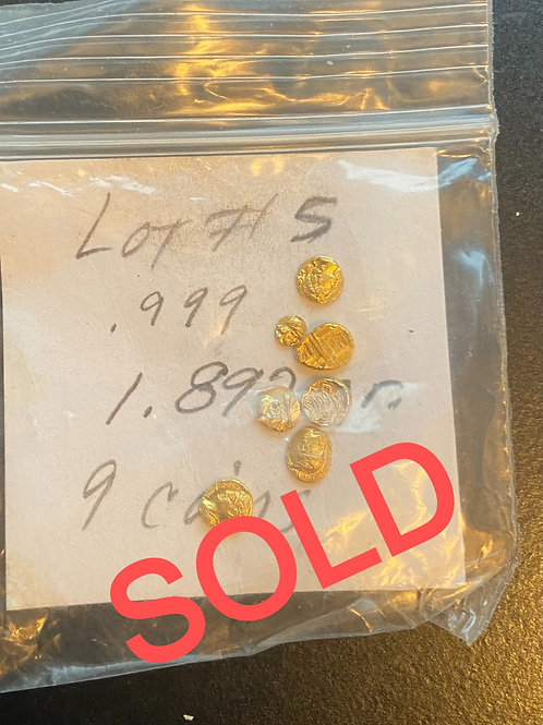 Miniature Gold Coin Grab Bag!