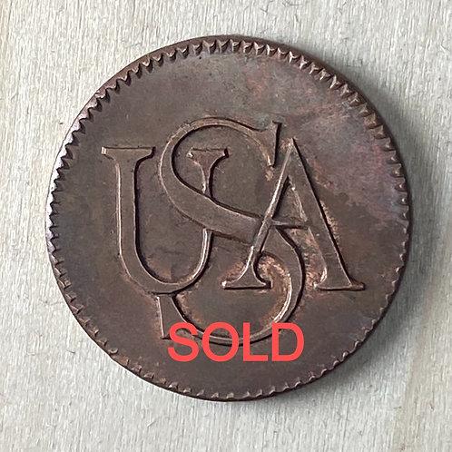 "1785 ""Bar Copper"" reproduction"
