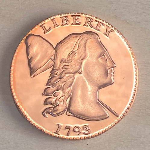 1793 Large Cent Proof reproduction