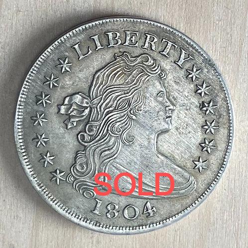 1804 Dollar Ron Landis pocket piece
