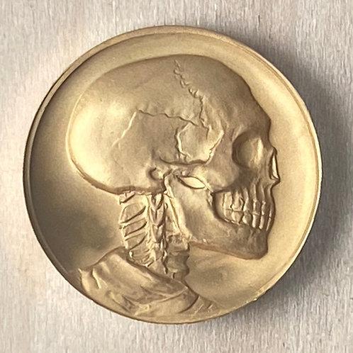 Golden Skull Buffalo Tribute
