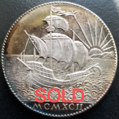 1992 Texas Renaissance Festival Silver Medal