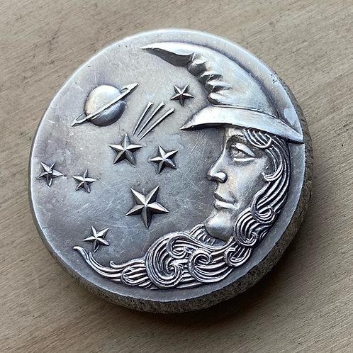 Luna Silver Art Medal