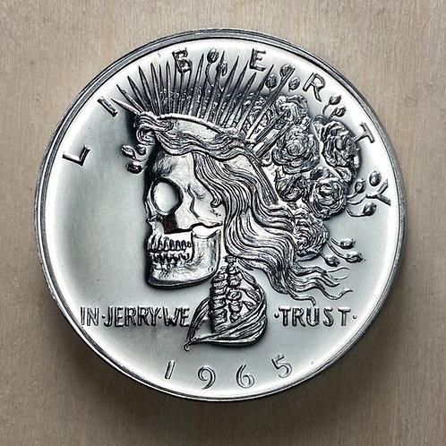 Pewter Deadhead Commemorative