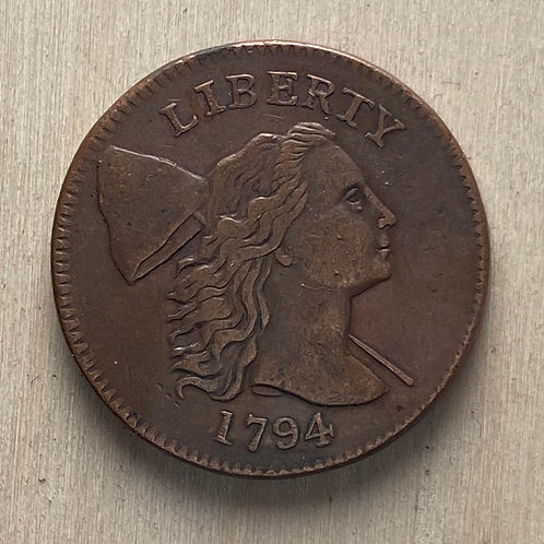 1794 Large Cent reproduction