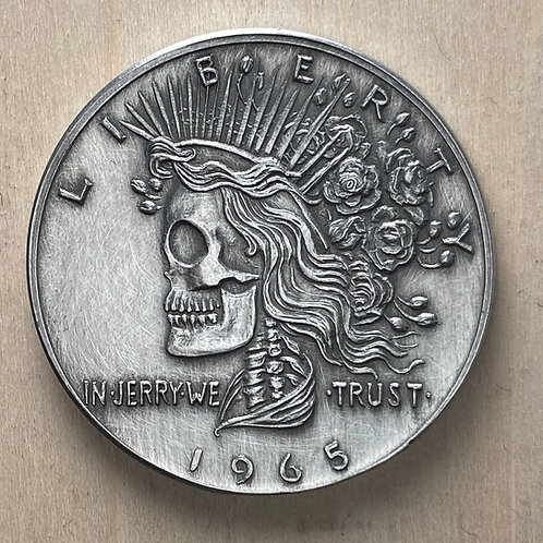 Deadhead Commemorative (pewter/antiqued)