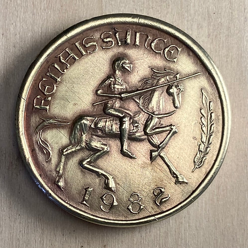 1982 Renaissance medal