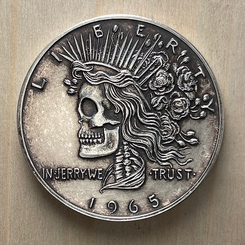 do not use Silver Deadhead Commemorative (antiqued)
